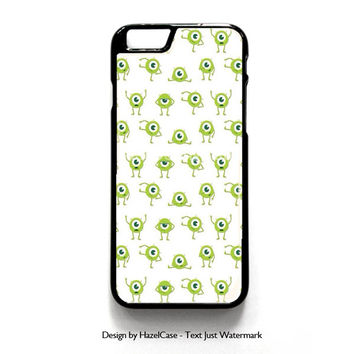 Mike Wallpaper Monsters Inc for iPhone 4 4S 5 5S 5C 6 6 Plus , iPod Touch 4 5  , Samsung Galaxy S3 S4 S5 Note 3 Note 4 , and HTC One X M7 M8 Case Cover