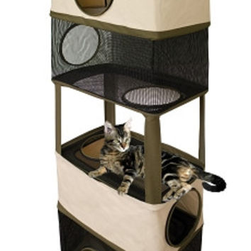 """Cat Tower Hanging Hideout -  22.5"""" X 12"""" X 64"""""""