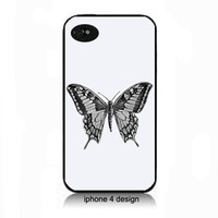 Butterfly  iphone 4 case phone accessory case, Iphone cover