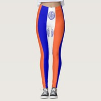 Leggings with flag of New York City, USA