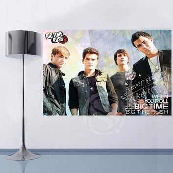 Y627#30 Top Selling Big Time Rush in Cologne Canvas Painting Wall Silk Poster cloth print DIY Fabric Poster L#30