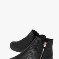 Rosie Zip Detail Skater Boot