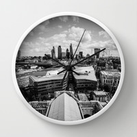 The City of London Wall Clock by Architect´s Eye | Society6