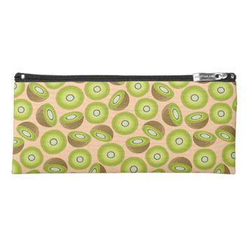 Cute Cut Kiwi Pattern Pencil Case
