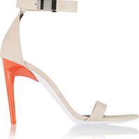 Proenza Schouler - Color-block nubuck sandals