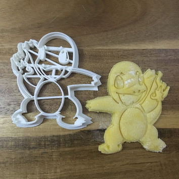 Charmander - Pokemon 3D Printed Cookie Cutter