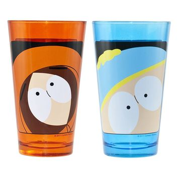 South Park 2-pc. Pint Glass Set (Multicolor)