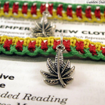 Rasta Hemp Bracelets, Hemp Friendship Bracelets, Best Buds Bracelets, Hemp Friendship Jewelry, Cannabis Friendship Bracelets, 420 Bracelets