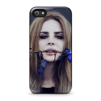 lana del rey iphone 5 5s se case cover  number 1