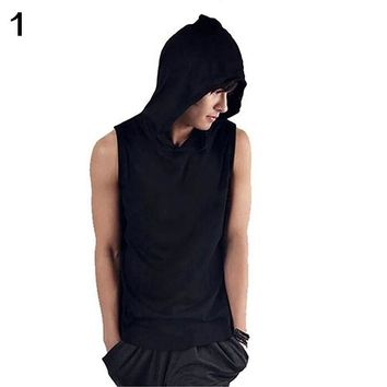 Gothic Steampunk Men Sleeveless Tank Top Muscle wear Black White Hoodies Vest Undershirt Chaleco Colete Veste