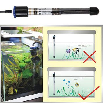 100W/200W/300W/500W  Aquarium Submersible Water Heater Fish Tank Adjustable Submersible Heaters for aquarium glass fish tank