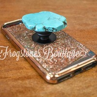 Stone Slab phone jewelry