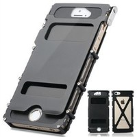 R-just® [Iron Man Series] Protective And Good-quality Case/Cover For Iphone5/5s - Black