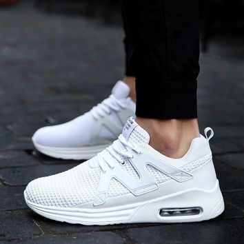 Women's Men's Knit Breathable Casual Sneakers Lightweight Athletic Tennis Walking Runn