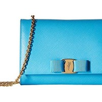 Salvatore Ferragamo B558 Miss Vara Mini Bag Cielo Handbags