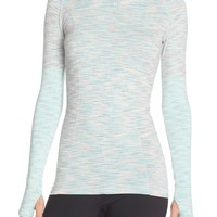 Climawear 'Aligned' Space Dye Long Sleeve Tee | Nordstrom
