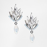 Love Rocks Fan Drop Earrings
