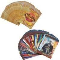 The World of Warcraft Pattern Wide Hardcover Poker Cards