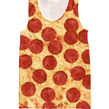 RuiYi Sport Shirts Pepperoni Pizza Tank Top Sexy Women Vest sex products Basketball Men Jersey Clothes Vestidos plus size