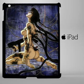Ghost in the Shell Stand Alone Complex Motoko Kusanagi iPad 2, iPad 3, iPad 4, iPad Mini and iPad Air Cases - iPad