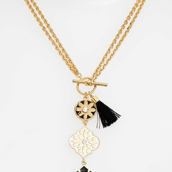 kate spade new york moroccan tile pendant necklace | Nordstrom
