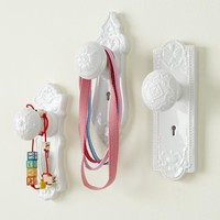 The Land of Nod | Kids' Storage: Kids' Decorative Door Knob Wall Hook in Shelves & Wall Hooks