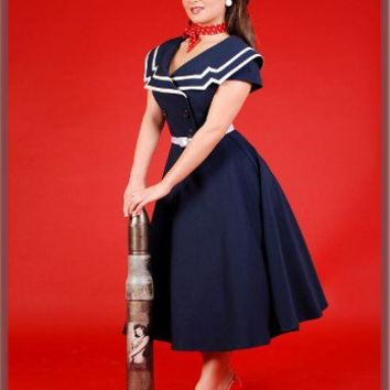 Betty Page Clothing-Captain Flare-Swing dresses-Retro Dress