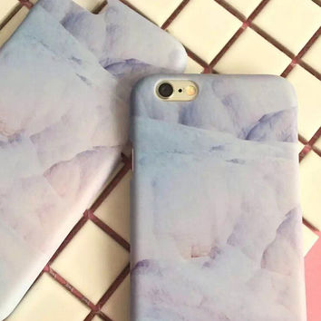 High-quality Nanometer Protect Marble Cover for iPhone 7 7Plus & iPhone 6 6s Plus & iPhone 5s se Case +Gift Box-E00