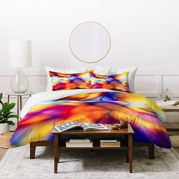 Viviana Gonzalez Textures Abstract 21 Duvet Cover