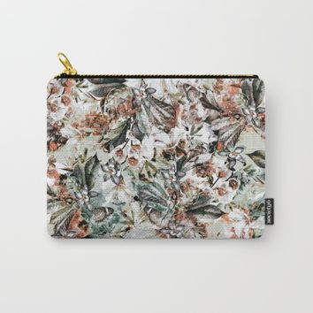 Orchidaceae Carry-All Pouch by VS Fashion Studio