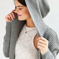 Kimchi Blue Dylan Hooded Cardigan - Urban Outfitters