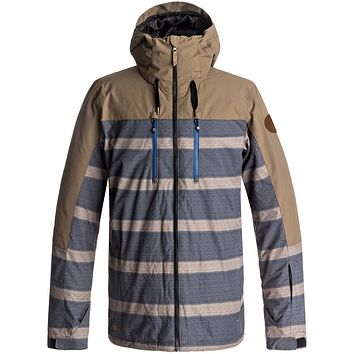 Quiksilver Mission Block Snow Jacket