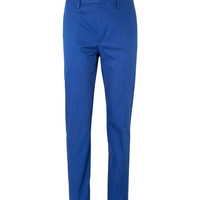 Marc by Marc Jacobs - Blue Tapered Cotton-Twill Suit Trousers | MR PORTER