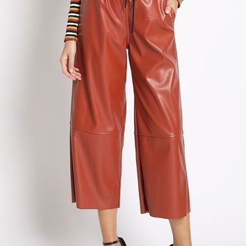 Rubber Meets Road Culotte Pants