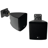 Pure Acoustics Mini Cube Speaker With Wall Bracket (black)