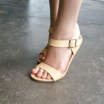 A Nude Funky Sandal