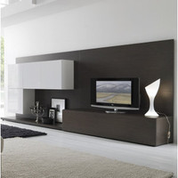 Entertainment Centers and Wall Units: Tween Wall Unit - Rossetto