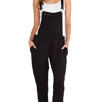 BLANKNYC Overalls in Black