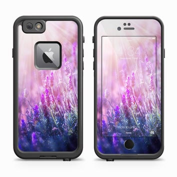 Purple Floral Field at Dawn Skin for the Apple iPhone LifeProof Fre Case