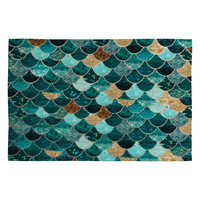 Monika Strigel Really Mermaid Woven Rug