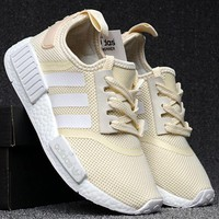 ¡®¡¯Adidas¡®¡¯ Women Running Sport Casual Shoes NMD Sneakers - Yelllow