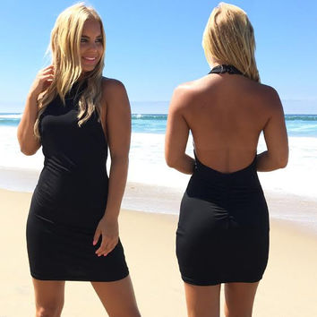 Love Yourself Dress In Black