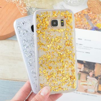 Luxury Bling 3D Glitter Soft Rubber Silicone Case for Samsung Galaxy S9 S8 Plus S6 S7 Edge J1 J3 J5 J7 A3 A7 A5 2016 2017 Cover