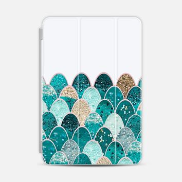 MERMAID SCALES iPhone6 transparent iPad Mini 1/2/3 case by Monika Strigel | Casetify