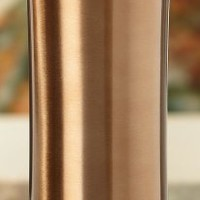 Starbucks Dark Brown 20 Oz (LARGE) Stainless Steel Double-Walled Tumbler with Removable Lid