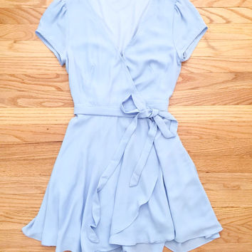 Blue Swing Party Dress