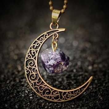 Amethyst Sailor Moon Necklace (Giveaway)