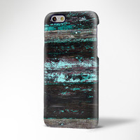 Turquoise and Black Wood Print iPhone 6 Case,iPhone 6 Plus Case,iPhone 5s Case,iPhone 5C Case,Samsung Galaxy S6 Edge/S6/S5/S4/S3/ Note 2/3