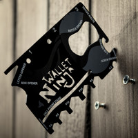 The Wallet Ninja 18-in-1 Multi-Tool | FIREBOX\u00ae
