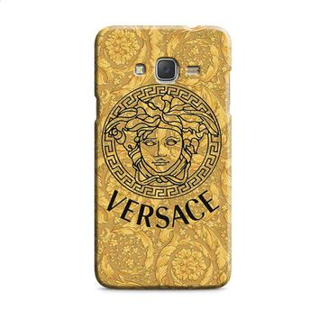 Versace Gold Logo Triforce Samsung Galaxy J7 2015 | J7 2016 | J7 2017 Case